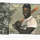 1996 Topps Jackie Robinson Insert  Dodgers 50th Anniversary