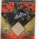 2003 Topps Traded Transactions Cliff Floyd Bat Card New York Mets