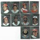 1982 Topps Sticker Album Complete National League All Star Foil Set Dawson Rose Schmidt