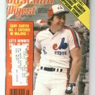 May 1981 Baseball Digest Gary Carter Cover Expos