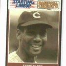 "1989 Kenner Starting Lineup Baseball Greats Ernie Banks ""Mr. Cub"" Baseball Card Oddball"
