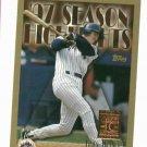 1998 Topps Minted In Cooperstown John Olerud New York Mets RARE