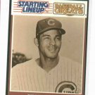 1989 Kenner Baseball Greats Starting Lineup Billy Williams Baseball Card Chicago Cubs Oddball