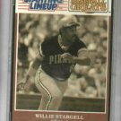 "1989 Kenner Starting Lineup Willie Stargell ""Pops"" Pittsburgh Pirates Baseball Card Oddball"