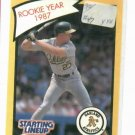 1989 Kenner Starting Lineup Mark McGwire Rookie Year 1987 Baseball Card Oakland A's