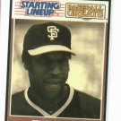 1989 Kenner Starting Lineup Baseball Greats Willie McCovey San Francisco Giants Baseball Card