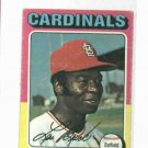 1975 Topps Mini Lou Brock St. Louis Cardinals VG/EX