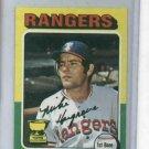 1975 Topps Mini Mike Hargrove Texas Rangers NRMT NICE CARD