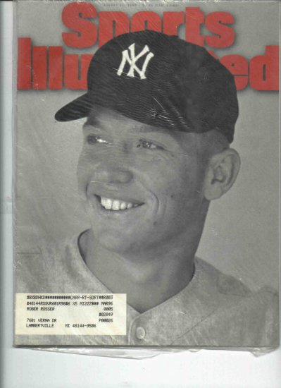 Aug 21 1995 Sports Illustrated Mickey Mantle Cover New York Yankees