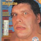 March 1988 WWF Magazine Andre The Giant Cover WWE