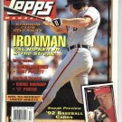 Fall 1991 Topps Magazine Cal Ripken Cover Free Cards Inside