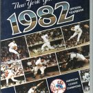1982 New York Yankees Yearbook With 18 1951 Bowman Style Cards Inside Mickey Mantle