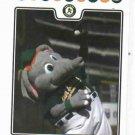 2008 Oakland A's Stomper Baseball Card Stadium Give Away SGA Oddball