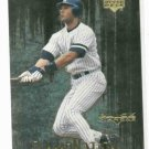2000 Upper Deck Black Diamond DiamoNation Derek Jeter Insert New York Yankees