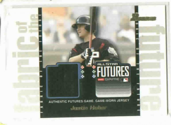 2003 Bowman All Star Futures Justin Huber Jersey Rookie New York Mets