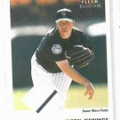 2003 Fleer Tradition Jason Jennings Game Used With Stripe 2 Color Colorodo Rockies