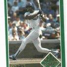 1992 Fleer Team Leaders Andre Dawson Chicago Cubs