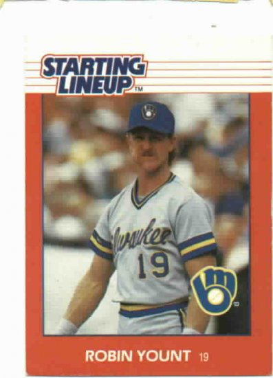 1988 Kenner Starting Lineup Paul Molitor Milwaukee Brewers