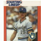 1988 Kenner Starting Lineup Paul Molitor Milwaukee Brewers