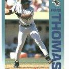 1992 Fleer Citgo 7-11 The Performer Collection Frank Thomas Oddball White Sox