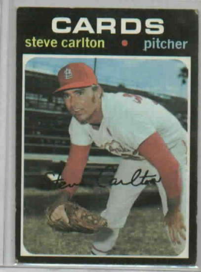 1971 Topps Steve Carlton St. Louis Cardinals