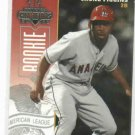 2003 Donruss Champions Chone Figgins Rookie BECKETT SAMPLE RARE Angels