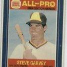 1987 Burger King Steve Garvey Ron Darling Baseball Card San Diego Padres Oddball