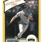 1989 Kenner Starting Line Up Rookie Year 1986 Will Clark San Francisco Giants
