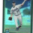 2001 Topps Traded Chrome Refractor Chris George Kansas City Royals Rookie