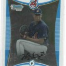 2008 Bowman Chrome Hector Rondon Cleveland Indians Rookie