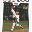2008 Topps Clay Buchholz Rookie Boston Red Sox