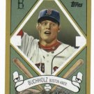 2008 Topps 205 Clay Buchholz Rookie Boston Red Sox