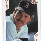 1991 US Playing Card Co. Wade Boggs Wild Card Boston Red Sox Oddball