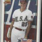 1991 Topps Traded Jason Giambi Team USA Rookie Oakland A's