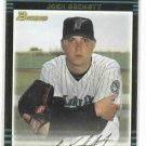 2002 Bowman Josh Beckett Rookie Florida Marlins Red Sox