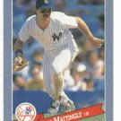 1993 Hostess Baseballs Don Mattingly Baseball Card New York Yankees Oddball