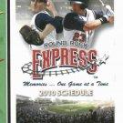 2010 Round Rock Express Pocket Schedule