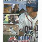 2009 Omaha Royals Pocket Schedule