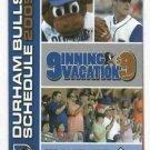 2009 Durham Bulls Pocket Schedule