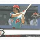 2002 Fleer Fall Classics Series Of Champions Mike Schmidt Philidelphia Phillies