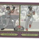2002 Fleer Fall Classics All Time Series Cal Ripken Jr Ozzie Smith Orioles Cardinals