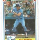 1983 Drakes Big Hitters Dale Murphy Atlanta Braves Oddball