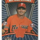 2005 Topps All Star Stiches Billy Wagner Jersey Card Philidelphia Phillies