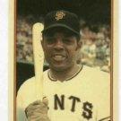 1985 Circle K Topps Home Run Kings Willie Mays Giants Mets Oddball