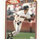 1990 Topps Hills Hit Men Will Clark Oddball San Francisco Giants