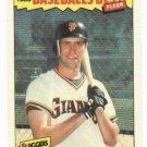 1986 Fleer Baseballs Best Will Clark Rookie San Francisco Giants Oddball