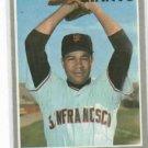 1970 Topps Juan Marichal San Francisco Giants Ex//Mt # 210