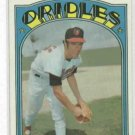 1972 Topps Jim Palmer Baltimore Orioles Card # 270 BEAUTIFUL
