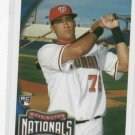 2010 Topps Ian Desmond Washington Nationals Rookie