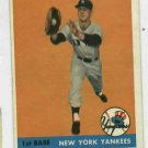 1961 Topps Marv Throneberry # 175 New York Yankees